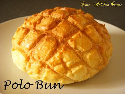 Pineapple Bun (Polo Bun)