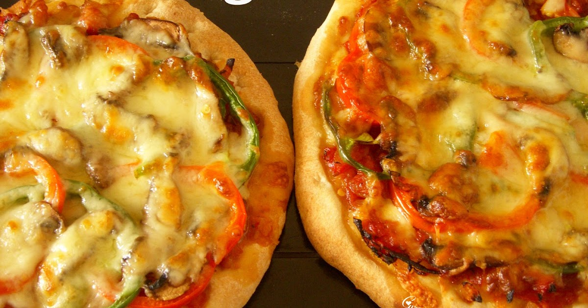 Kitchen Corner: Vegetable Pizza