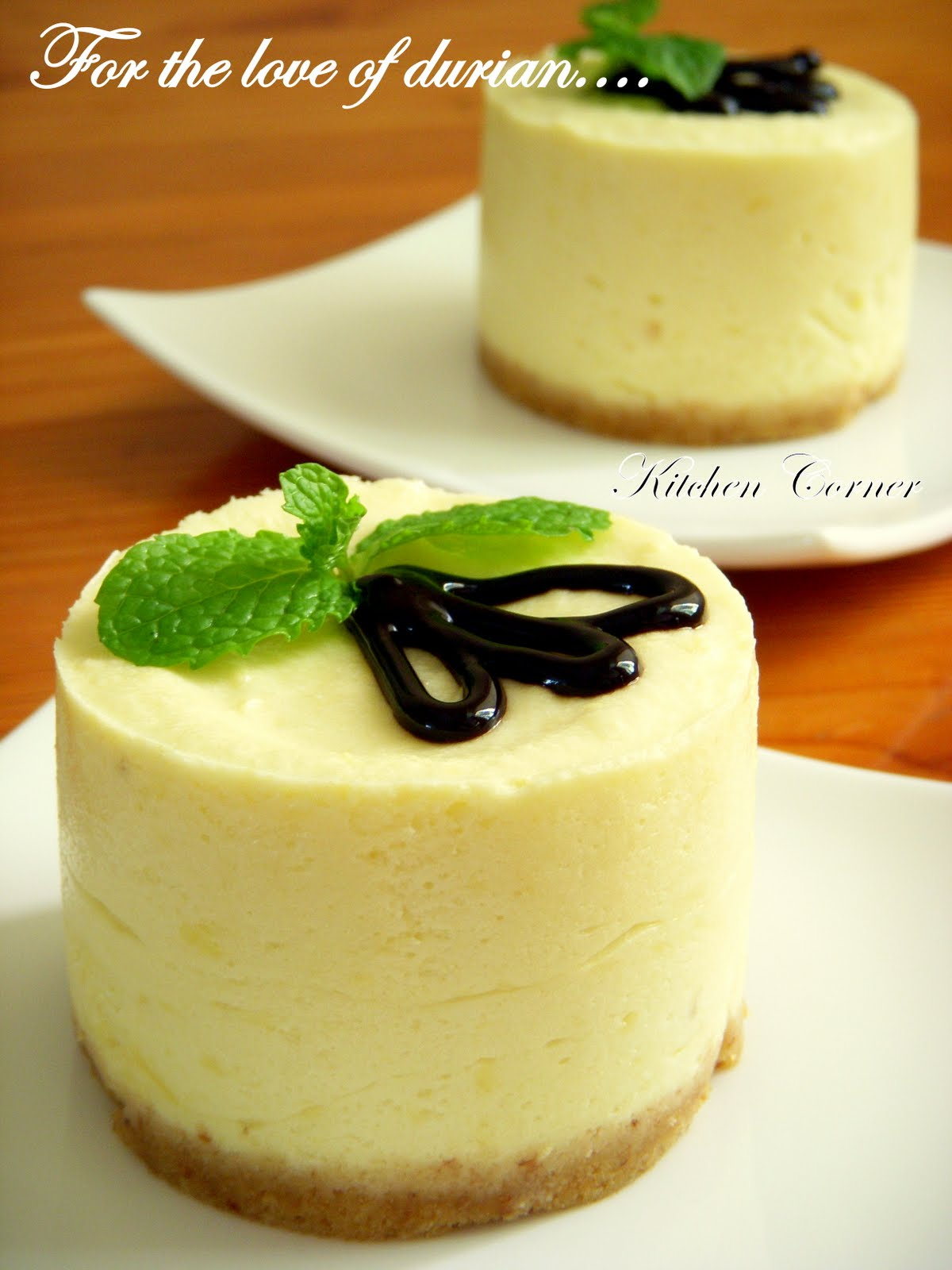 Durian Mousse Cake Recipe