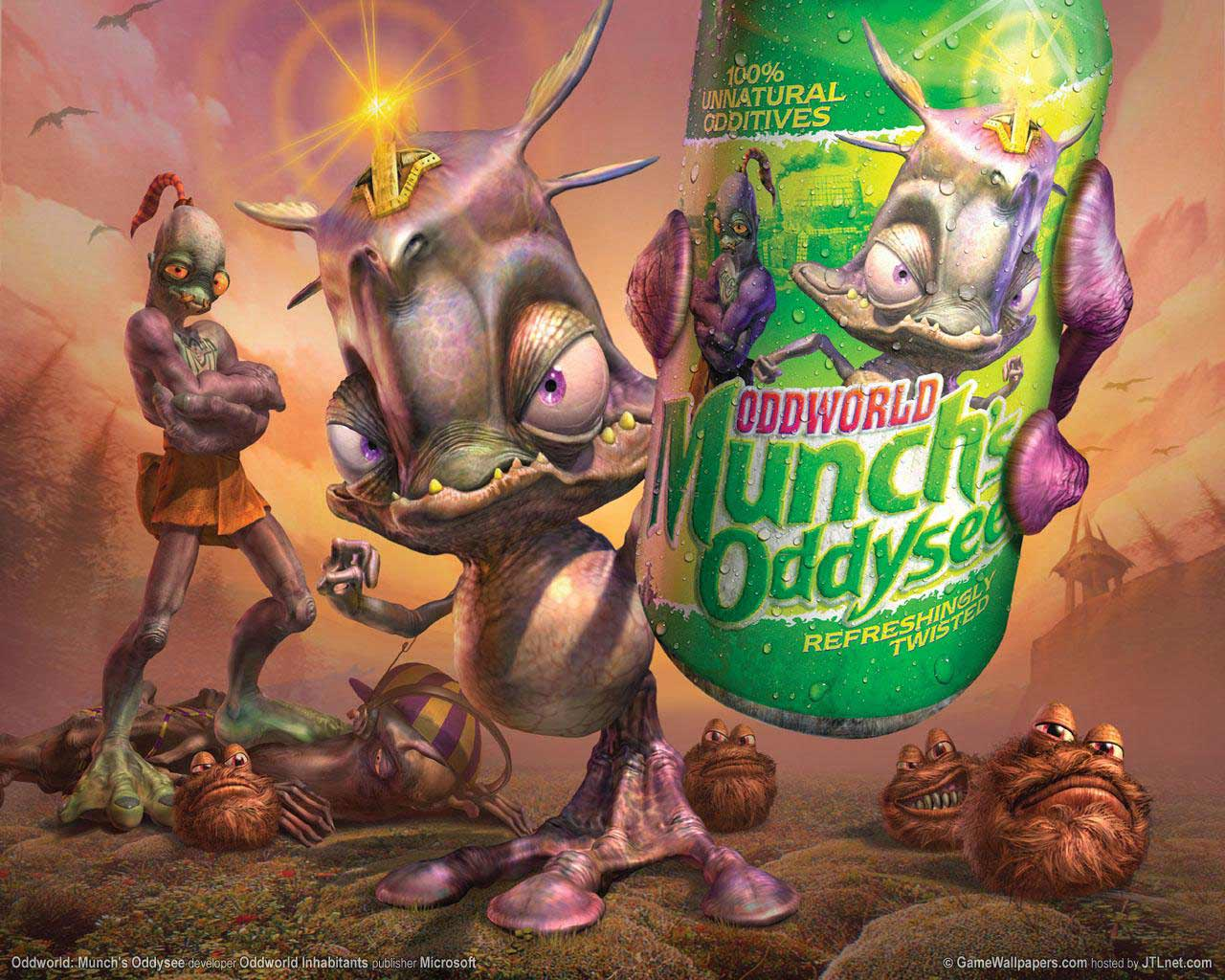 What do you look for in a game? Munch's+Oddysee