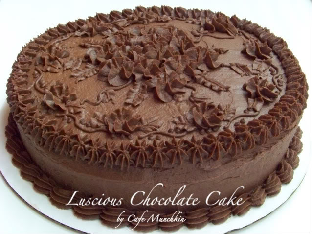 Last but not least, CHOCOLATE cake!!!