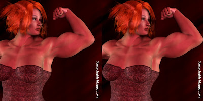 3D Muscle Girls