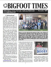 Bigfoot Books Makes the Cover of Bigfoot Times