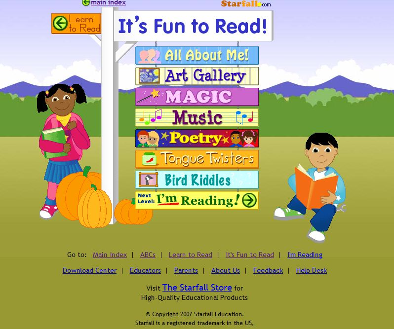 Starfall Download Center - Starfall: Learn to Read with ...