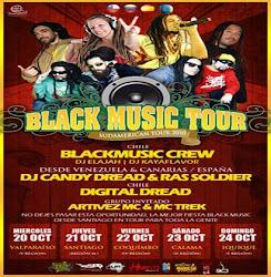 BLACK MUSIC TOUR - 20-21-22-23-24 de Octubre