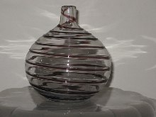 Woolworths - SWIRL VASE