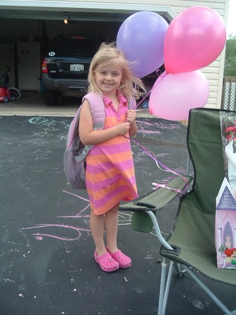 Taylor's Last Day of Kindergarten