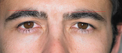 brows4 How to groom your own eyebrows   a guide for men.