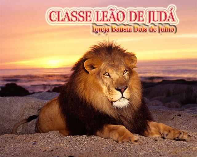 CLASSE LEÃO DE JUDÁ