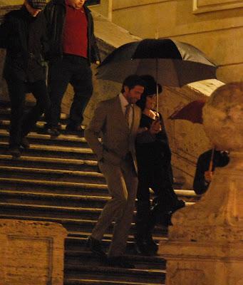 Hugh Jackman, vacaciones en Roma