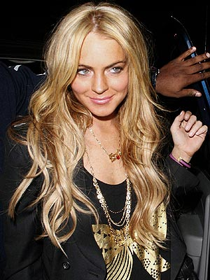 Lindsay Lohan's hat hairstyle. July 18, 2008 | Blonde Hairstyles,