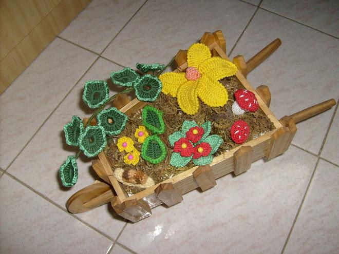 per la festa della mamma,un piccolo giardino .