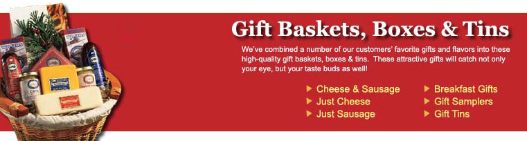 Gift Baskets & Gift Boxes: Great Assorments of Our Best Gifts!