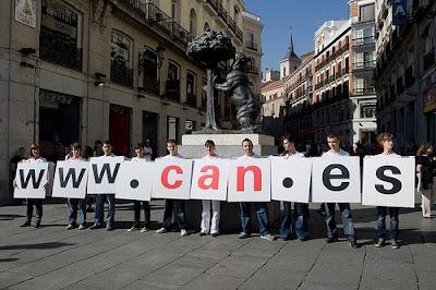 la CAN.es sale a la calle en Madrid 1