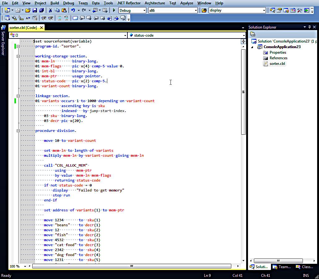 It's a COBOL world!