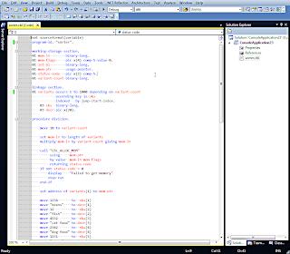 Visual COBOL = Visual Studio COBOL