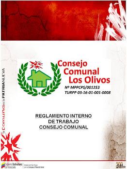 """REGLAMENTO INTERNO DE TRABAJO DEL CONSEJO COMUNAL """"LOS OLIVOS"""""""
