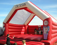 The Argus Bouncy Castle