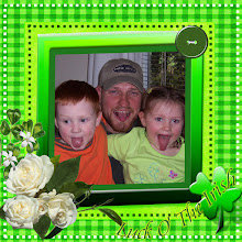 Free Digital Scrapbook Quick Page Luck o' the Irish