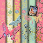 Free Digital Scrapbook Set Spring is on it's way