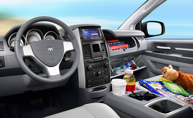 Dodge Grand Caravan, Dodge Grand Caravan Interior