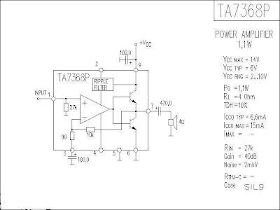 IC TA7368P