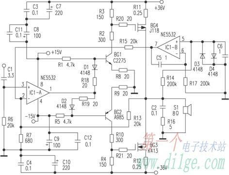 concise fet audio amplifiers another electronics circuit Electronic Circuit Diagram Software Free Electronic Circuit Diagram Software Free