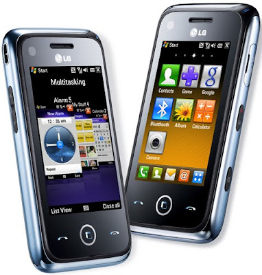 LG GM750 Smartphone on Windows Mobile 6.5