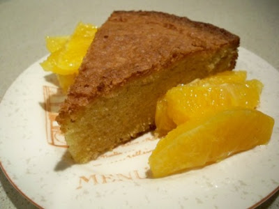 Orange-Scented Olive Oil Cake and Remembering