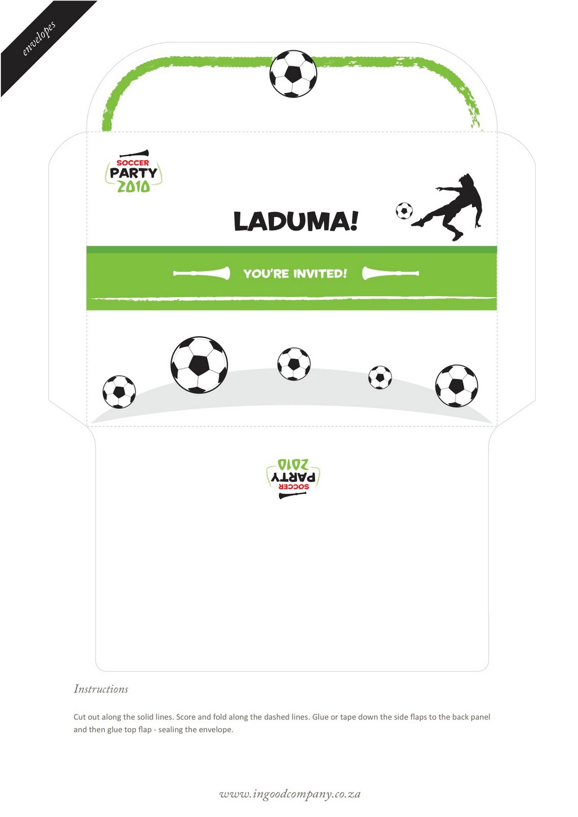 Soccer Themed Birthday Party Invitations is Lovely Layout To Make Lovely Invitations Design