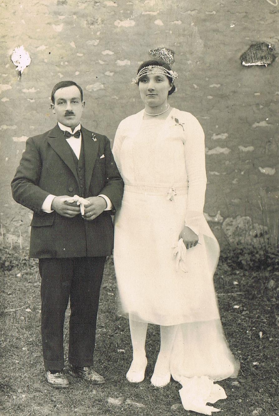 Mariées du siècle passé