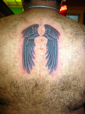 tattoos lettering designs cross angel wings tattoo. Lion Tattoos - Tribal