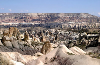 view of Cappadocia Rock Formation