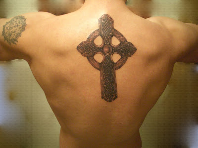 Picture of Celtic Cross Tattoos, One of the popular