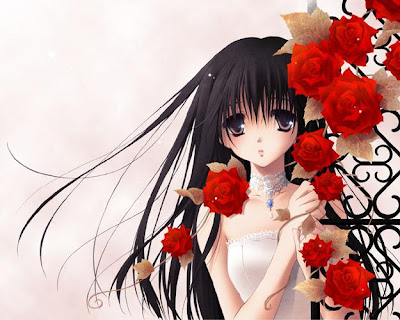 ���� ���� 2011 lely_anime_girl_and_red_roses.jpg