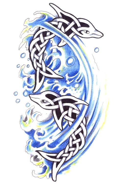 June 23rd, 2010 | Filed under Animal Tattoo, Celtic Tattoo.