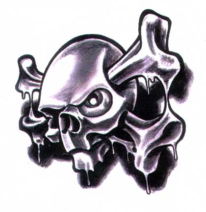 Skull Poison. If you like this tattoo picture, please consider subscribing