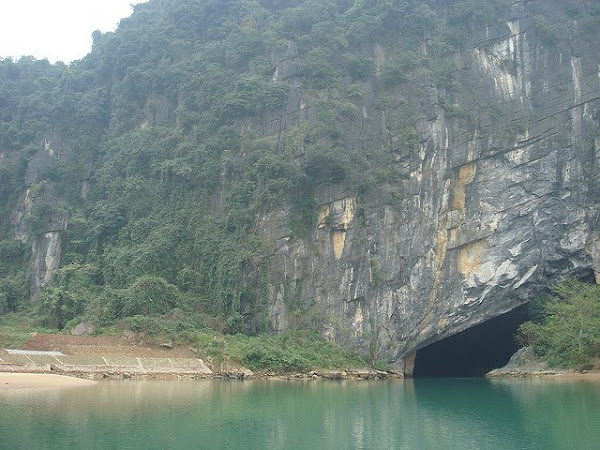 Mouth of underground river, Phong Nha - Ke Bang National park