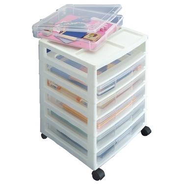 Simplify Your Life Organizing Storage Solution Ideas Scrapbook Cart