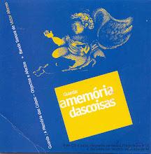 """CD """"A Memória das Coisas"""""""