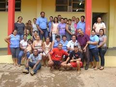 """Profissionais da Escola """"Pio Machado"""""""