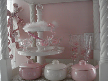 pink pottery