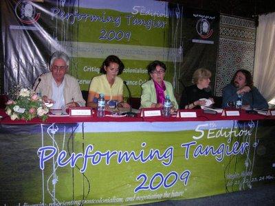PERFORMING TANGIER 2009