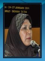 Timbalan Pengarah IPG KBM, Puan Jamaliah Mohd Salleh
