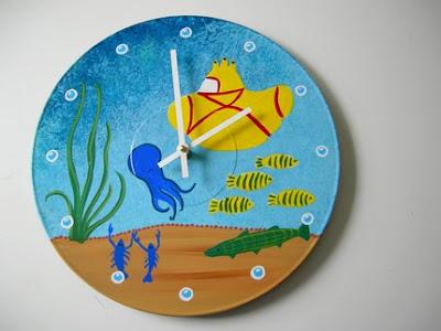 Yellow Submarine Album. Yellow Submarine Wall