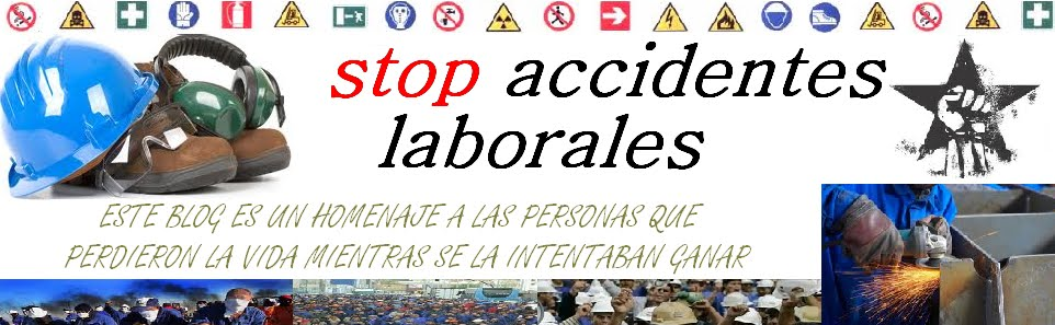 STOP ACCIDENTES LABORALES