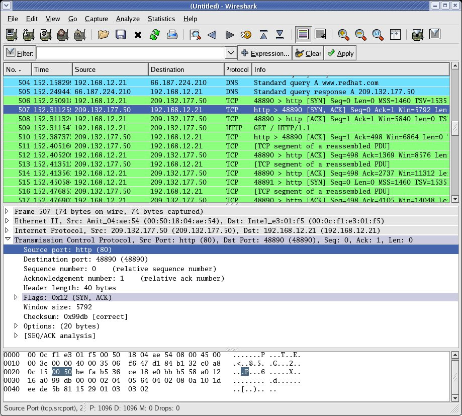 wireshark capture network traffic Is there a way to get wireshark to capture packets sent from/to localhost when i monitor traffic going from my computer to another, or from another computer to my.