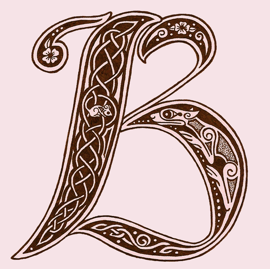 ... Illuminated Letters on Pinterest | Book of kells, Illuminated letters