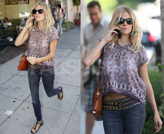 Fashion Icon  Sienna Miller