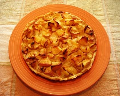 ... go ahead and make this Country Apple Tart with Spiced Brown Butter